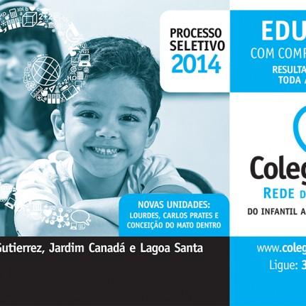 Aliás Comunicação desenvolve campanha para a rede de ensino Coleguium
