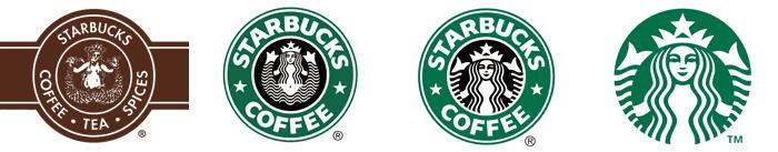starbucks-logo antes e depois | rebranding