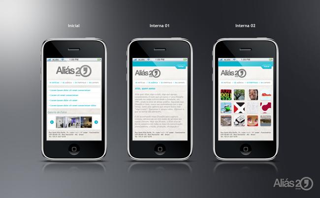 Aliás lança versão mobile do site para iPhone e iPod Touch