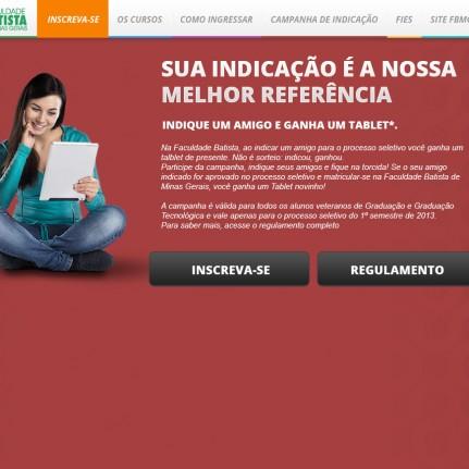 Aliás e Faculdade Batista Lançam nova campanha.